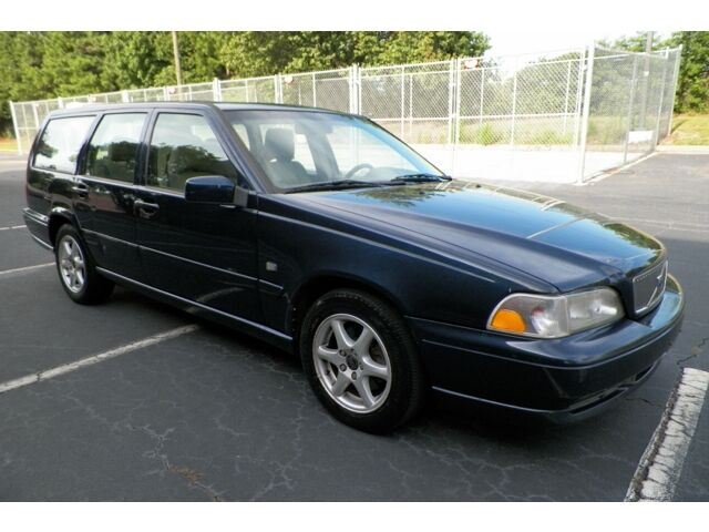 2000 volvo v70 se 1 owner southern owned sunroof wood trim cold a c no reserve used volvo v70