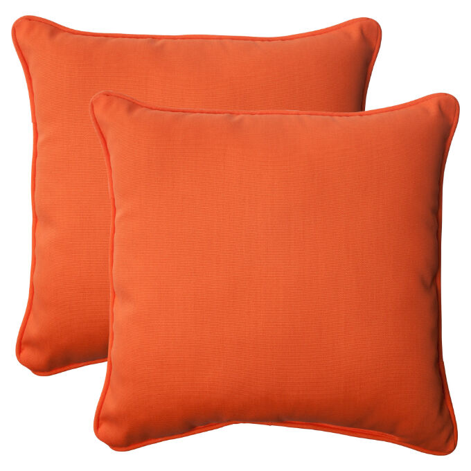 Solid Color Micro Suede Throw Pillows