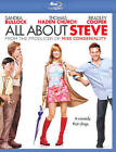 All About Steve (Blu-ray Disc, 2009, 2-Disc Set, Includes Digital Copy)