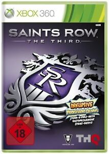 SAINTS ROW THE THIRD for Microsoft Xbox 360 Video Game - <span itemprop=availableAtOrFrom>Woking, United Kingdom</span> - SAINTS ROW THE THIRD for Microsoft Xbox 360 Video Game - Woking, United Kingdom