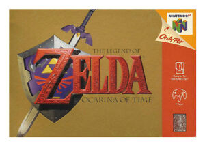 The Legend Of Zelda: Ocarina of Time (Ni...