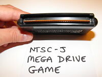 NTSC-J AND NTSC SEGA MEGA DRIVE GAMES ON A PAL CONSOLE