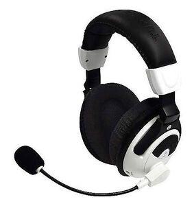 9b74a2e3e22a Turtle Beach Ear Force X31 Black White Headband Headsets for Microsoft Xbox  360