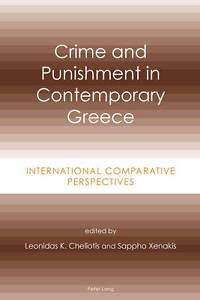 Crime and Punishment in Contemporary Greece, Leonidas K. Cheliotis