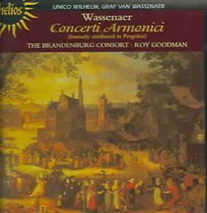 Concerti Armonici (Goodman, Brandenburg Consort) CD NEW
