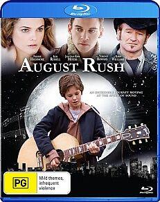 August Rush (Blu-ray, 2012)