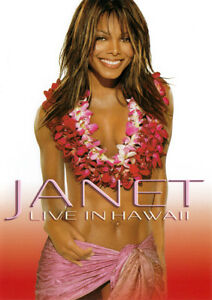 F25 BRAND NEW SEALED Janet Jackson - Live In Hawaii (DVD, 2002) Region 4 AUS