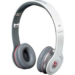 beatsbydrdresolohdheadbandheadphoneswhiteredand