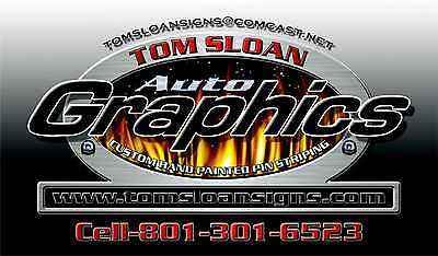 TOM SLOAN'S AUTO GRAPHIC DESIGN