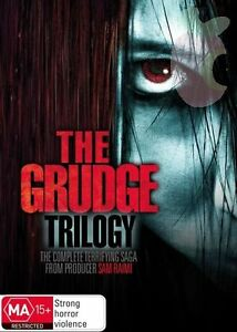 The Complete Grudge Trilogy Collection DVD NEW