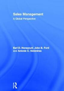 NEW Sales Management: A Global Perspective by John B Ford
