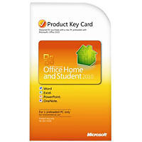 Microsoft Office для Дома и учебы 2010 Продукт Ключ-Карта PKC.