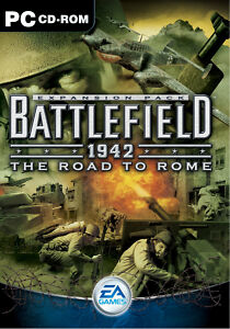 Battlefield 1942: The Road To Rome (PC, 2003, DVD-Box)
