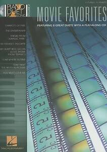 Movie Favorites Vol 2 Piano Duet Book & Playalong CD B25