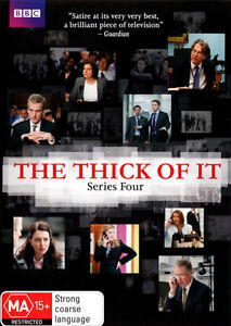 The Thick Of It : Series 4 (DVD, 2013, 2-Disc Set)  REG 4  NEW & SEALED   D2153