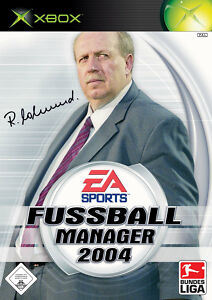 Fußball Manager 2004 (Microsoft Xbox, 2003, DVD-Box) - Deutschland - Fußball Manager 2004 (Microsoft Xbox, 2003, DVD-Box) - Deutschland