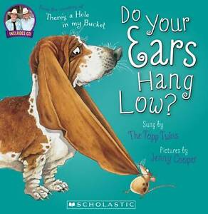 DO YOUR EARS HANG LOW Book + CD Sung by THE TOPP TWINS Pictures Jenny Cooper NEW