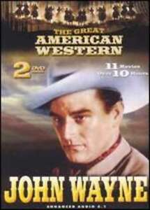 JOHN WAYNE THE GREAT AMERICAN WESTERN DVD, 2003, 2-DISC SET NEW IN PACKAGE  - $5.00