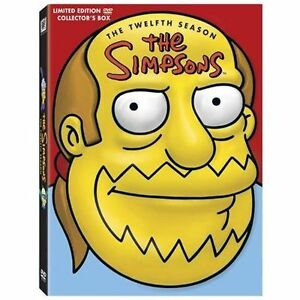 The Simpsons  Season 12 DVD 2009 4Disc Set Limited Edition Collectible Mo - Coplay, Pennsylvania, United States - The Simpsons  Season 12 DVD 2009 4Disc Set Limited Edition Collectible Mo - Coplay, Pennsylvania, United States