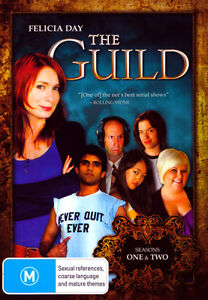 The-Guild-Season-1-2-DVD-2011-2-Disc-Set-REGION-4-Brand-new-Free-postage