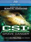 CSI: Crime Scene Investigation - Grave Danger (Blu-ray/DVD, 2012, 2-Disc Set) (Blu-ray/DVD, 2012)