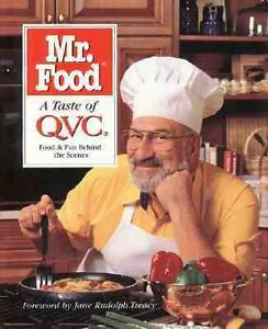 Art Ginsburg Mr Food A Taste of QVC 1998 Used Trade Cloth Hardcove