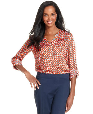 Jones New York No-Iron, Easy-care Blouse