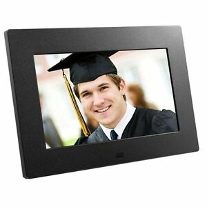 "Aluratek ADPF08SF 8"" Digital Picture Frame same day FREE shipping"