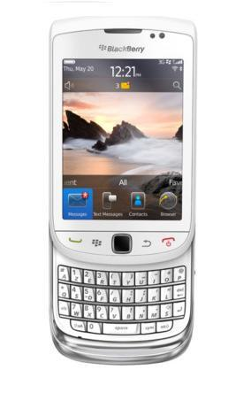 BlackBerry Torch 9800 - 4GB - White (Unlocked) Smartphone (AZERTY Keyboard)