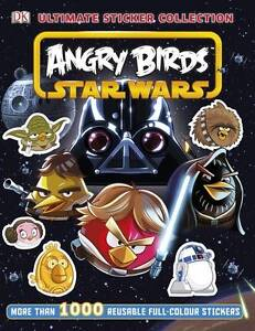 Angry Birds Star Wars Ultimate Sticker Collection, DK, New Book