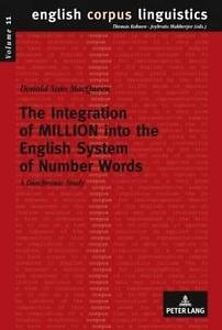 The Integration of Million into the English System of Number Words, Donald Sims