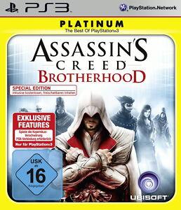 SONY PS3 Assassin's Creed: Brotherhood NEU/OVP in Folie PlayStation 3 Special Ed