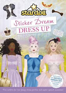 STARDOLL,-STARDOLL: STICKER DREAM DRESS UP  BOOK NEW