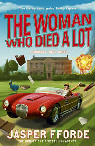 The Woman Who Died a Lot-ExLibrary