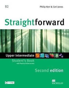 Straightforward Upper Intermediate Level: Student's Book + Webcode-F044