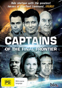 Captains Of The Final Frontier (DVD, 2013)-FREE POSTAGE