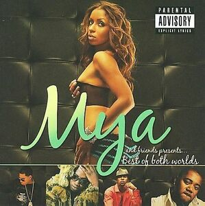 Mya - Best of Both Worlds ( P.A. CD 2009 ) NEW / SEALED