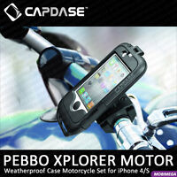 Capdase Pebbo Waterproof (Weather) Case for iPhone 4/4S