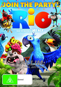 Rio (DVD, 2011) NEW R4