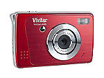 Vivitar Vivicam X025 10.1 MP Digital Camera - Strawberry