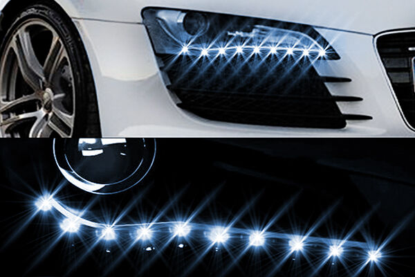 Top 5 automotive light strips for a slightly smaller strip option the universal led eyebrow from evo lighting is a great option for a small flexible light strip aloadofball Image collections