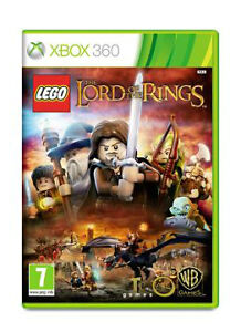 MICROSOFT-XBOX-360-CONSOLE-GAME-LEGO-LORD-OF-THE-RINGS-WARNER-BROS-GAME