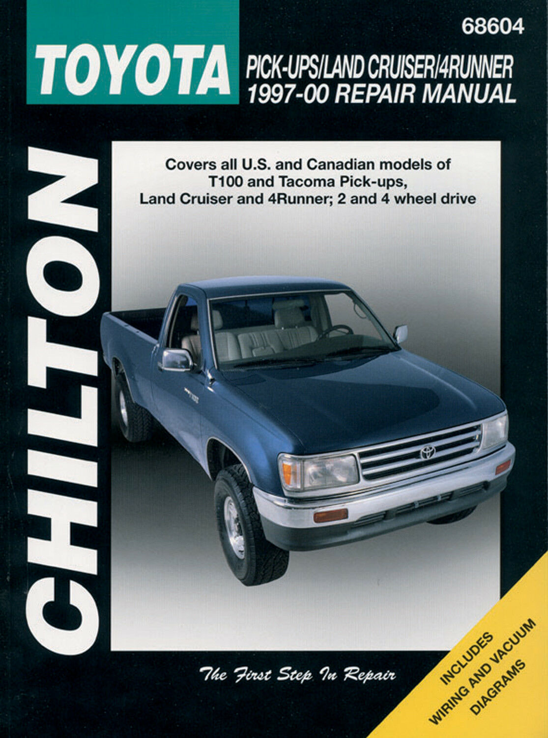 1997 Toyota T100 Engine Vacuum Diagram Repair Manual Chilton 68604 Ebay Stock Photo