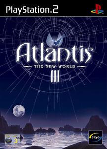 Play Station 2 Spiel PS2 Atlantis III - Die neue Welt mit Anleitung