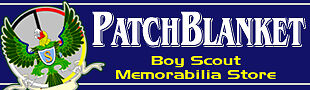 Patchblanket Boy Scout Memorabilia