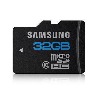 Micro SD 32 GB Class 10: Diese Informationen beinhaltet die Bezeichnung der Speicherkarte