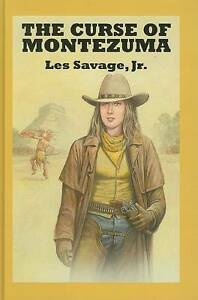 Savage-Les-The-Curse-of-Montezuma-Sagebrush-Westerns-Book