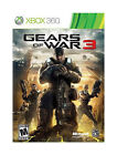 Gears of War 3  (Xbox 360, 2011) (2011)