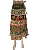 Womens Fashion Cotton Wrap around Skirts