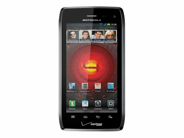 Motorola Droid 4 - 16GB - Black (Verizon) Smartphone